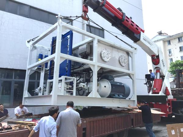 Hydraulic Power Unit for Pipe Laying Ship
